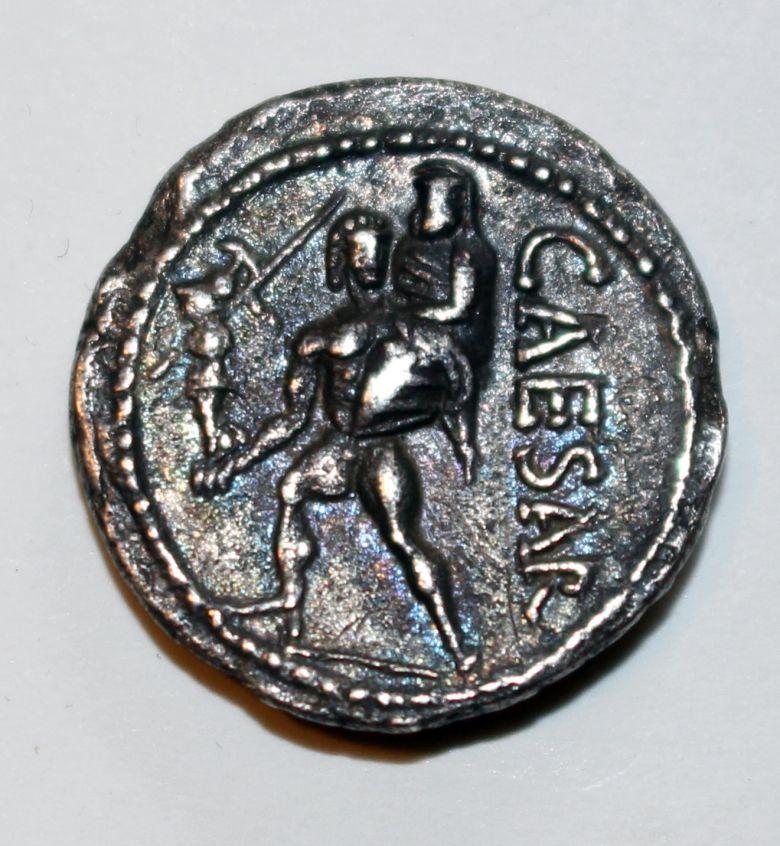 römische Silbermünze