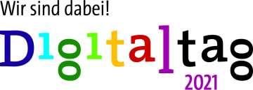 Logo: Wir sind dabei! Digitaltag 2021
