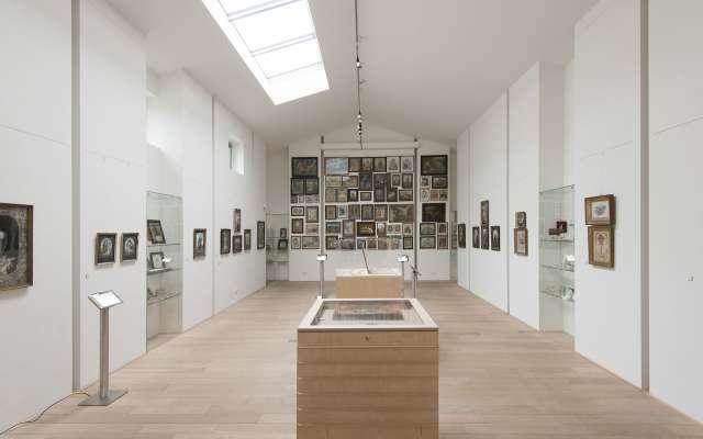 Blick in die Dauerausstellung im Feld-Haus