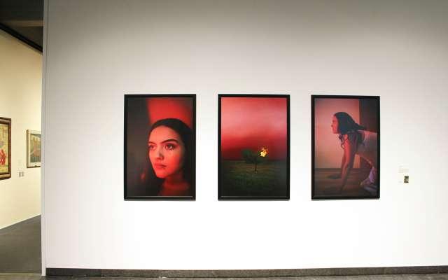 Blick in eine Ausstellung von Schüler*innen