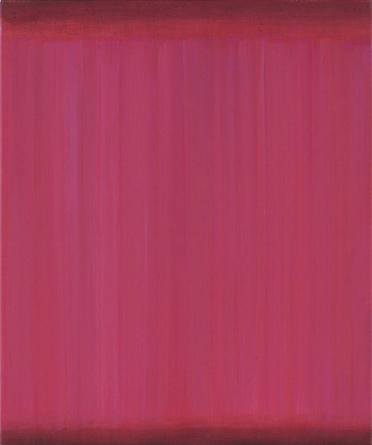 rotes monochromes Acrylbild