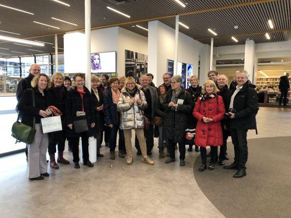 Gruppenbild der Mitglieder des Museumsvereins bei der Exkursion ins CODA Museum (Appeldorn)